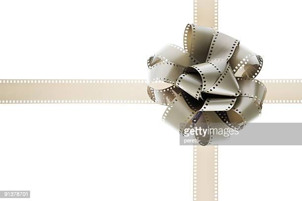 filmstrips gift bow