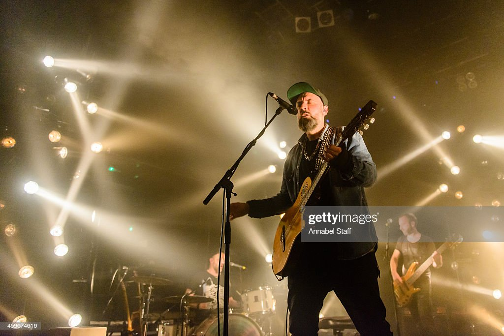Fin Greenall aka Fink performs on stage at KOKO on November 27 2014 in London United Kingdom