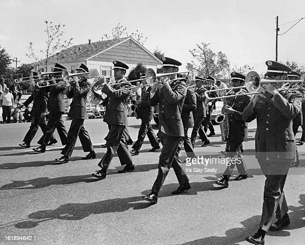 MAY 22 1971 MAY 23 1971 Final Community Parade Apperance Lowry Air Force Base 'Band of the Rockies' made its final community parade appearance...