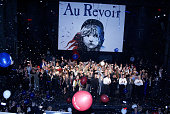 Final curtain call of 'Les Miserables' during The Final Performance of Broadway's LongRunning Tony AwardWinning Musical 'Les Miserables' at The...