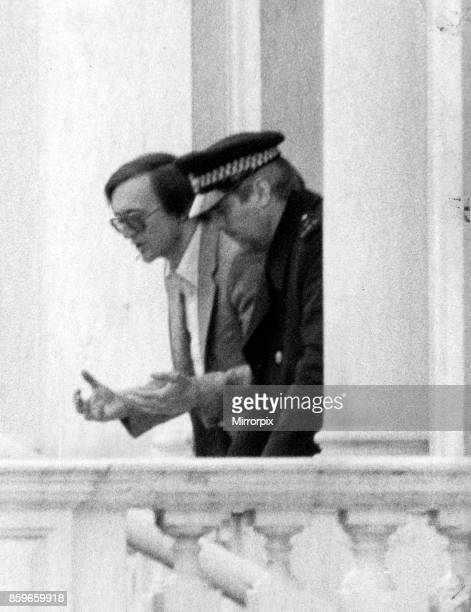 Final day of the Iranian Embassy Siege in London where six gunmen of the Iranian extremist group 'Democratic Revolutionary Movement for the...