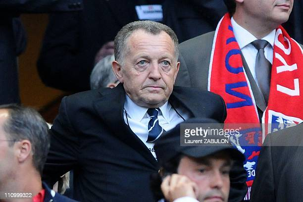 Final of Cup of France League 1 at Stade de France in Paris France on May 24th 2008 JeanMichel Aulas