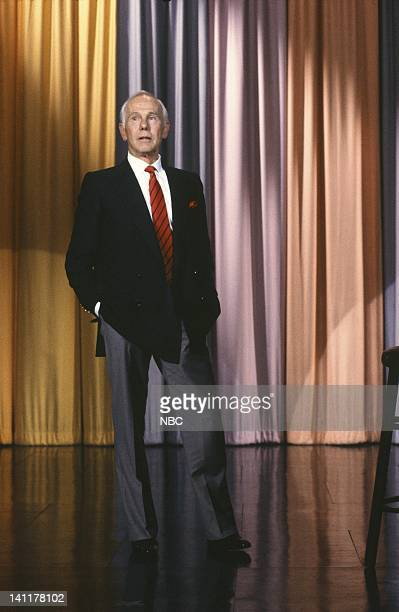 CARSON 'Final Show' Air Date Pictured Host Johnny Carson Photo by Alice S Hall/NBCU Photo Bank