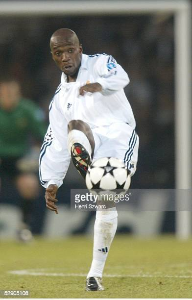 Finale Glasgow BAYER 04 LEVERKUSEN REAL MADRID 12 REAL MADRID CHAMPIONS LEAGUE SIEGER 2002 Claude MAKELELE/MADRID