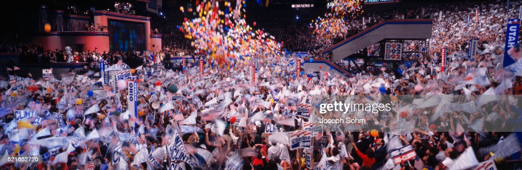 Finale of the 1992 Democratic Convention