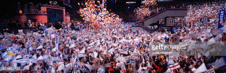 finale-of-the-1992-democratic-convention