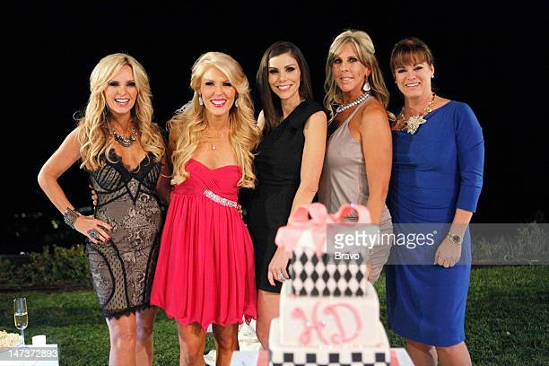 COUNTY 'Finale' Pictured Tamra Barney Gretchen Rossi Heather DuBrow Vicki Gunvalson Jeana Keough
