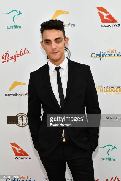 HLS finalist Dakota Shapiro attends the 9th Annual Australians In Film Heath Ledger Scholarship Dinner at Sunset Marquis Hotel on June 1 2017 in West...
