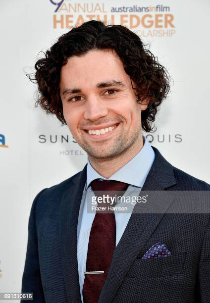 HLS finalist Sam Delich attends the 9th Annual Australians In Film Heath Ledger Scholarship Dinner at Sunset Marquis Hotel on June 1 2017 in West...
