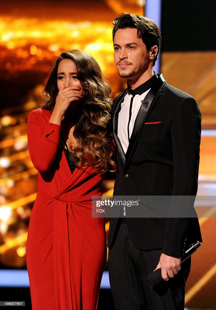 Finalists Alex Sierra perform onstage on FOX's 'The X Factor' Season 3 Live Finale on December 19 2013 in Hollywood California