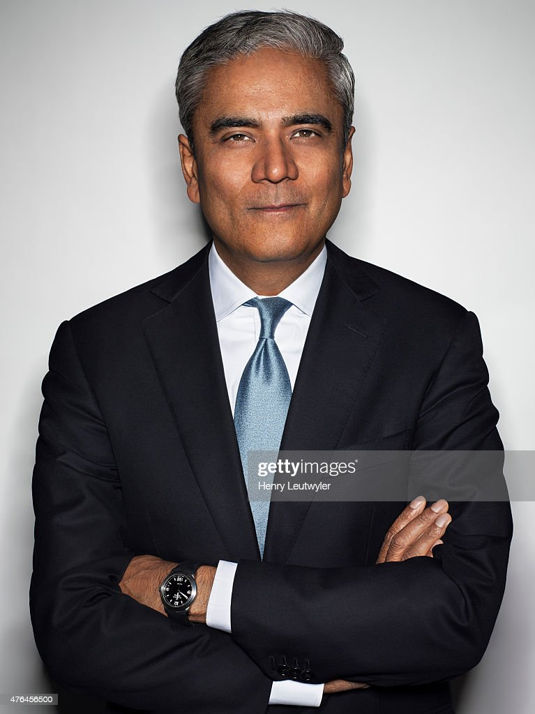 Finance executive <a gi-track='captionPersonalityLinkClicked' href=/galleries/search?phrase=Anshu+Jain&family=editorial&specificpeople=4132683 ng-click='$event.stopPropagation()'>Anshu Jain</a> is photographed for Die Zeit Magazine on February 13, 2015, in New York City. PUBLISHED IMAGE