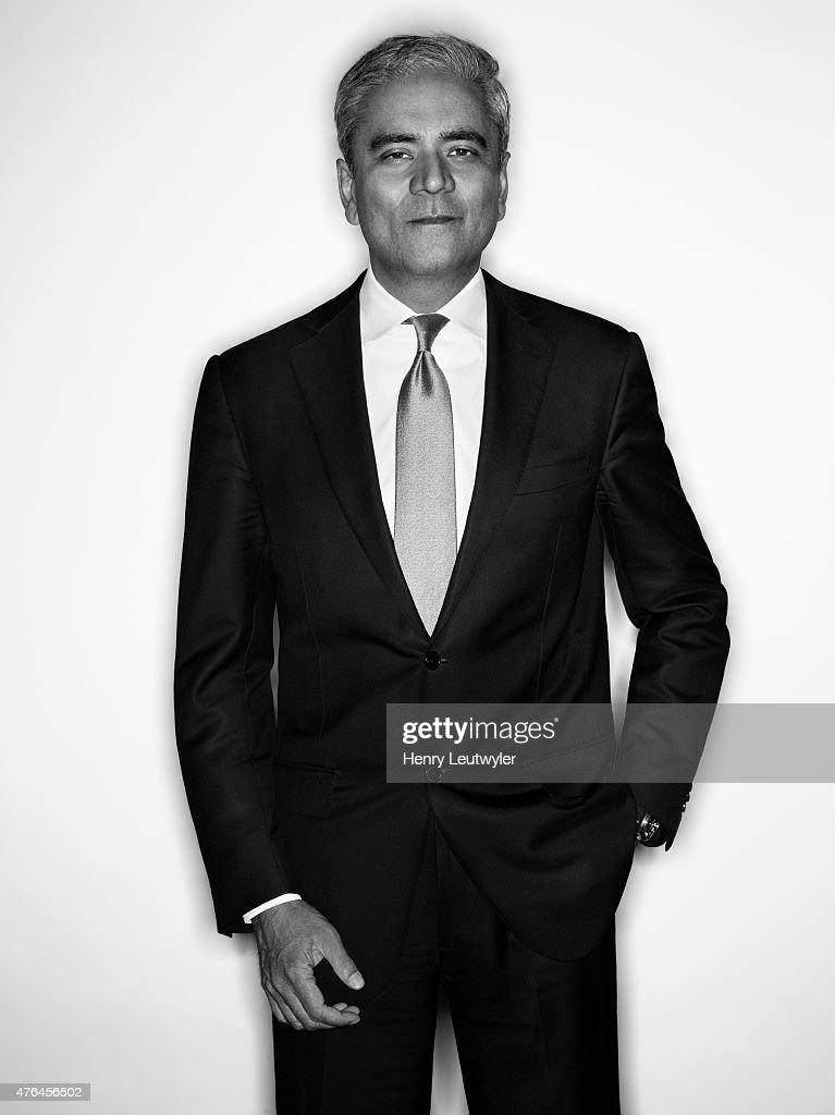 Finance executive <a gi-track='captionPersonalityLinkClicked' href=/galleries/search?phrase=Anshu+Jain&family=editorial&specificpeople=4132683 ng-click='$event.stopPropagation()'>Anshu Jain</a> is photographed for Die Zeit Magazine on February 13, 2015, in New York City.