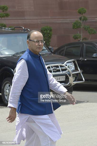 Finance Minister Arun Jaitley during all party Meeting at Parliament