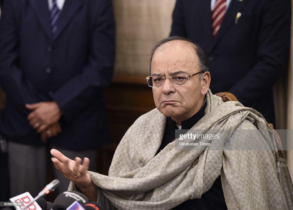 Press Conference Of Union Finance Minister Arun Jaitley On Demonetization