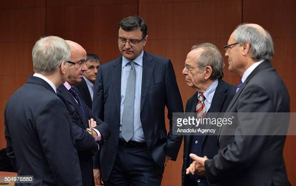 Eurozone Finance Ministers' meeting Pictures | Getty Images