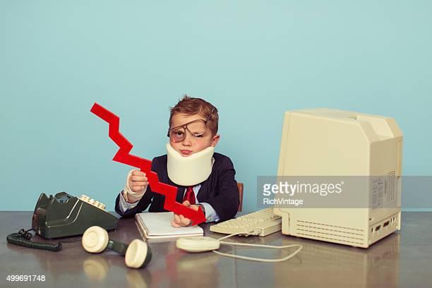 Financial Advisor Jungen ist bankrott