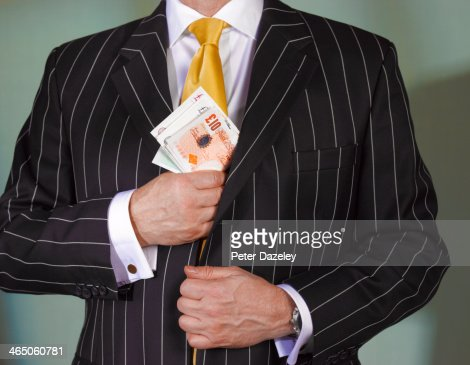 Financial advisor with british currency