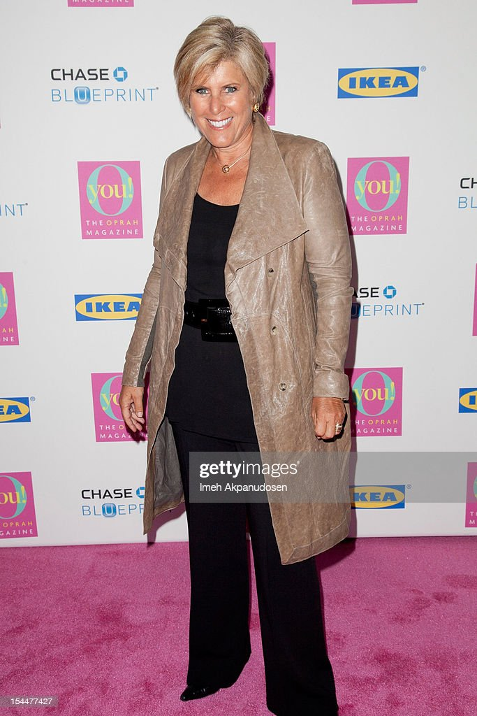 Financial advisor/TV personality Suze Orman attends O, The Oprah Magazine's O You! Event at Los Angeles Convention Center on October 20, 2012 in Los Angeles, California.