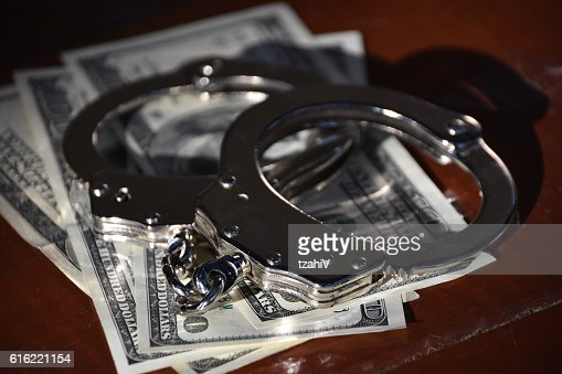 Financial Crime : Stockfoto