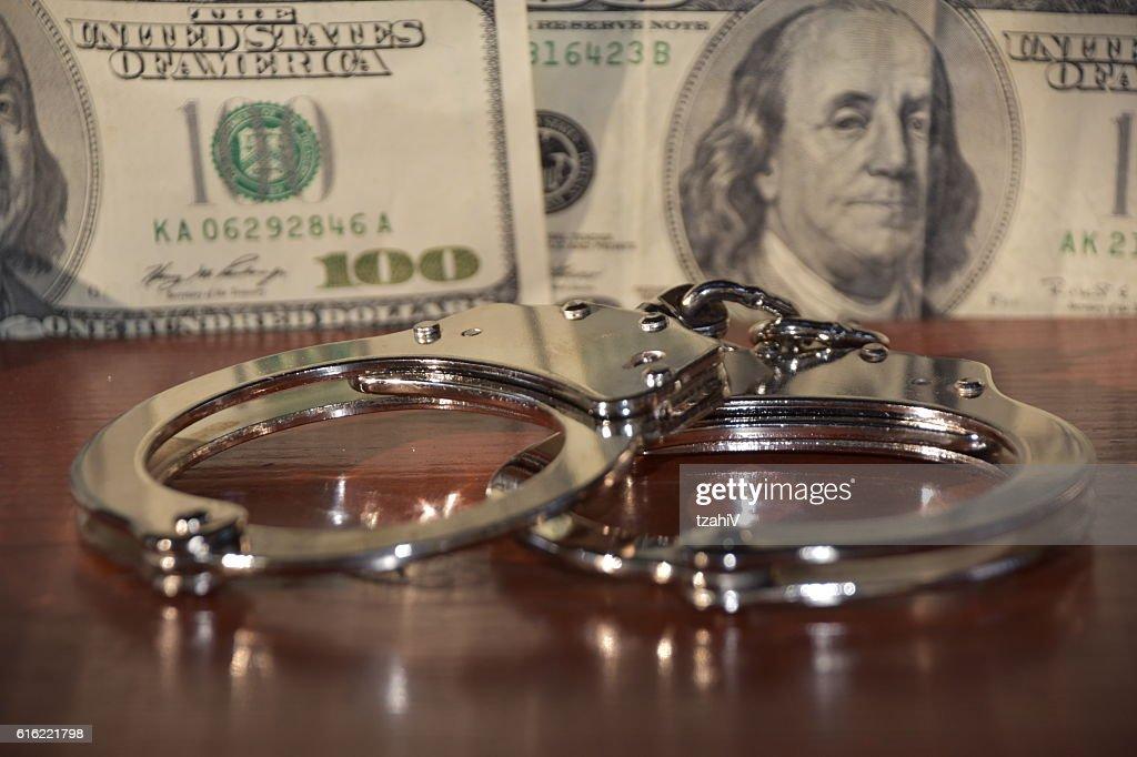 Financial Crime : Stock Photo