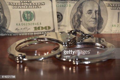 Die Finanzkriminalität : Stock-Foto
