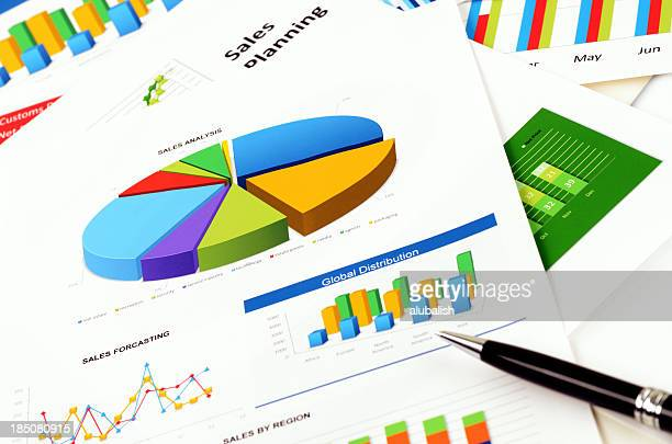 Financial data analyzing