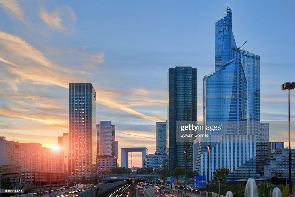 Financial District, La Defense, Paris : Stock Photo