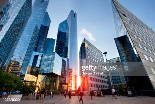 Financial District, La defense, Paris