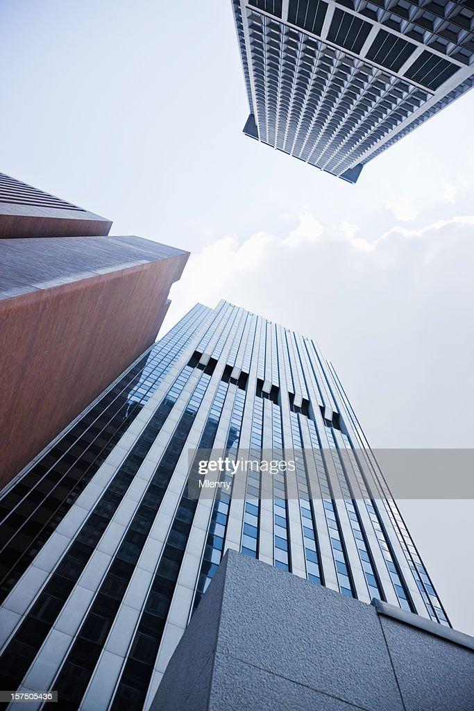 Financial District Manhattan New York City : Stock Photo