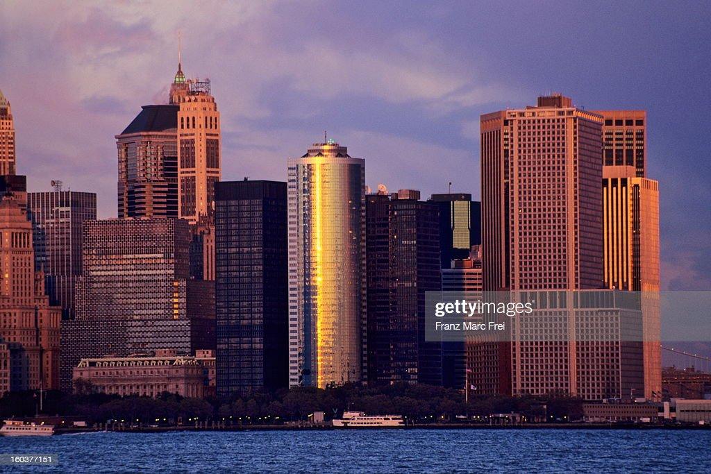 Financial District of Manhattan : Stock Photo