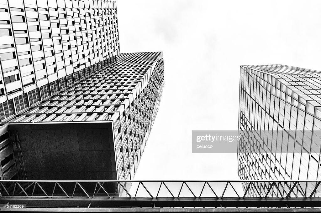 Distrito Financeiro : Foto de stock