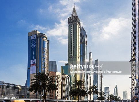 Financial District, skyscrapers : Stockfoto