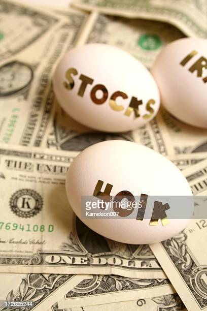 Financial eggs on money