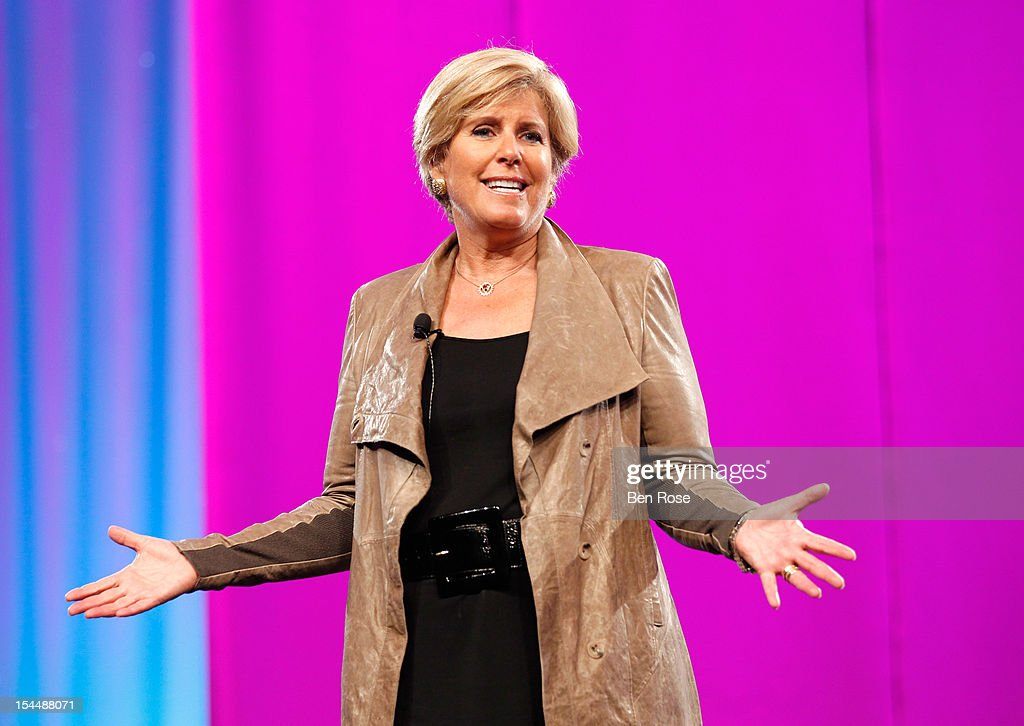 Financial Expert Suze Orman speaks onstage at O You! presented by O, The Oprah Magazine, held at Los Angeles Convention Center on October 20, 2012 in Los Angeles, California.