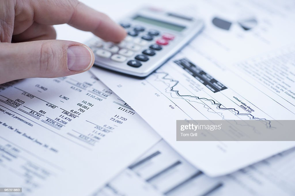 Financial graphs with calculator