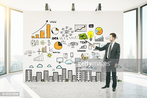 Financial growth concept : Stock Photo