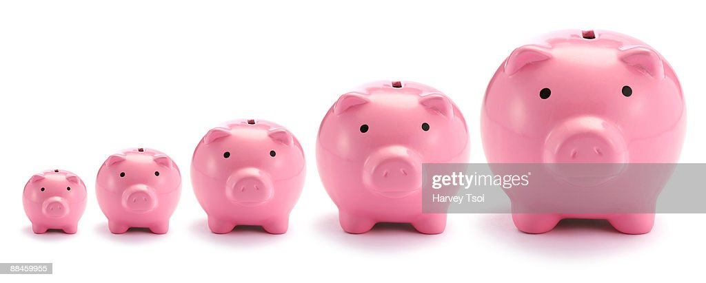 Financial Growth : Stock Photo