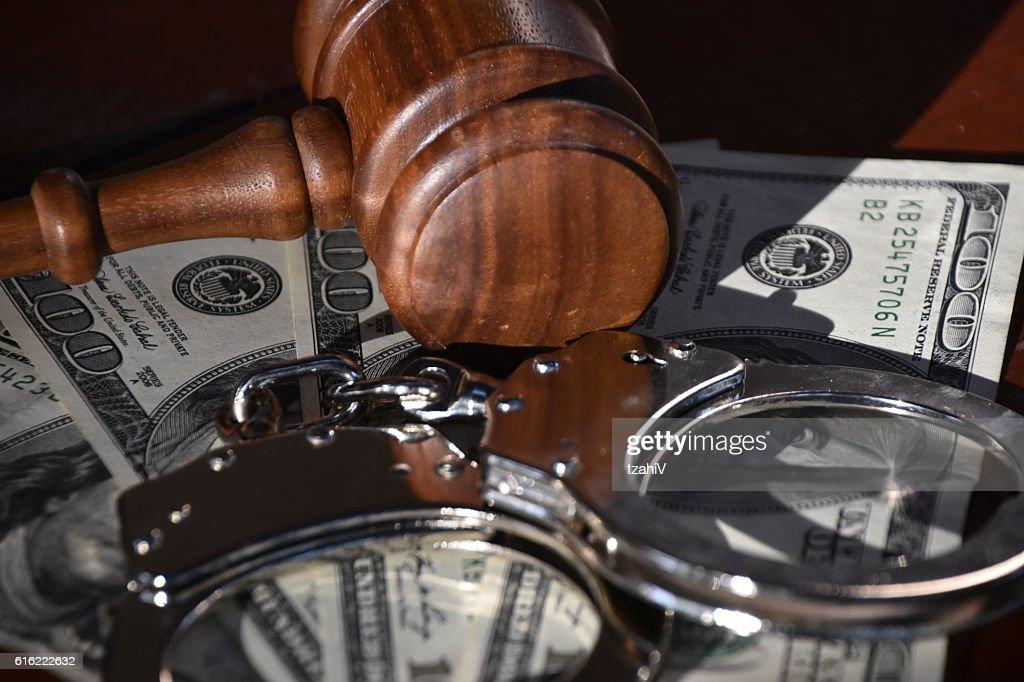 Financial judgment : Stock-Foto