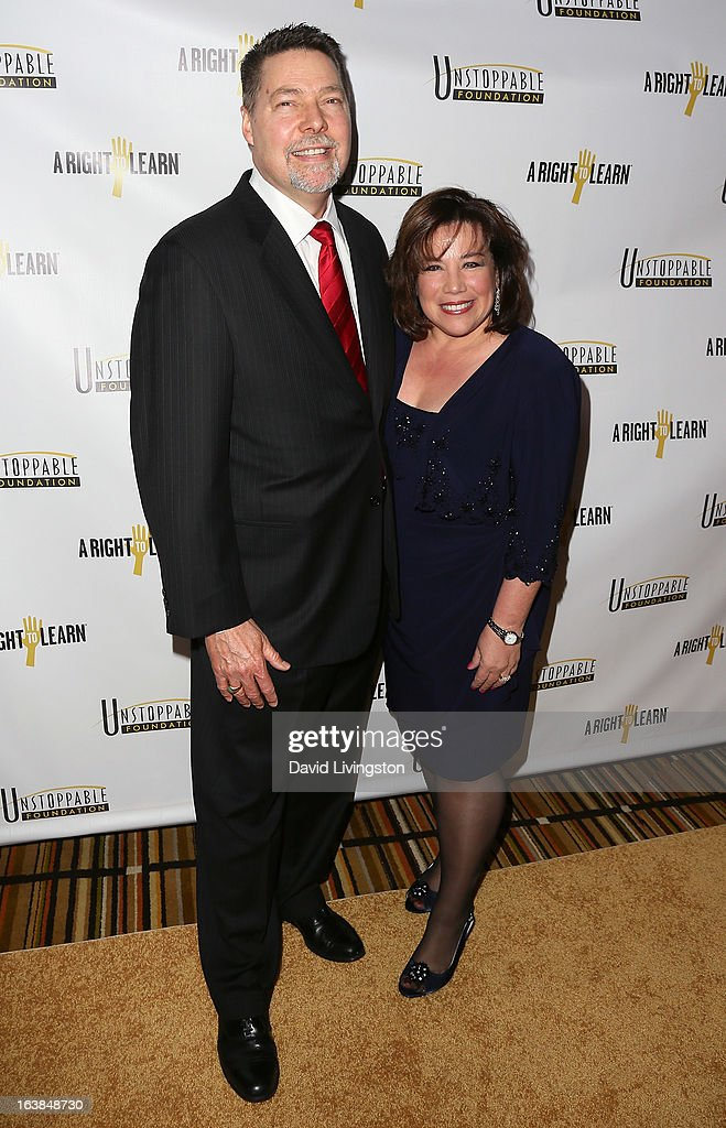 Financial strategists Jim Conaway (L) and Lorraine Conaway attend the 4th Annual Unstoppable Gala at the Beverly Wilshire Four Seasons Hotel on March 16, 2013 in Beverly Hills, California.