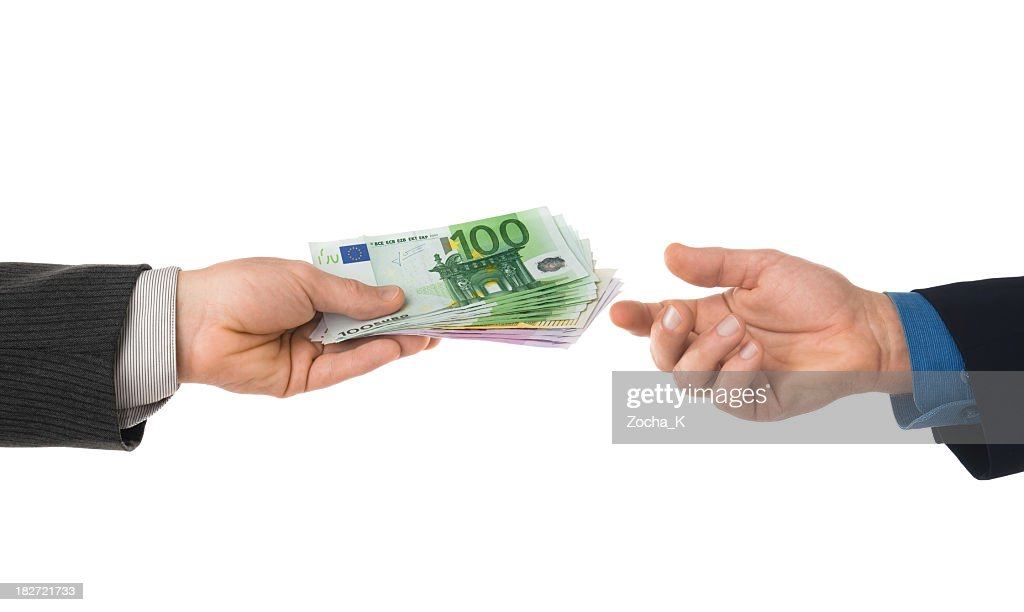 A financial transaction between two parties