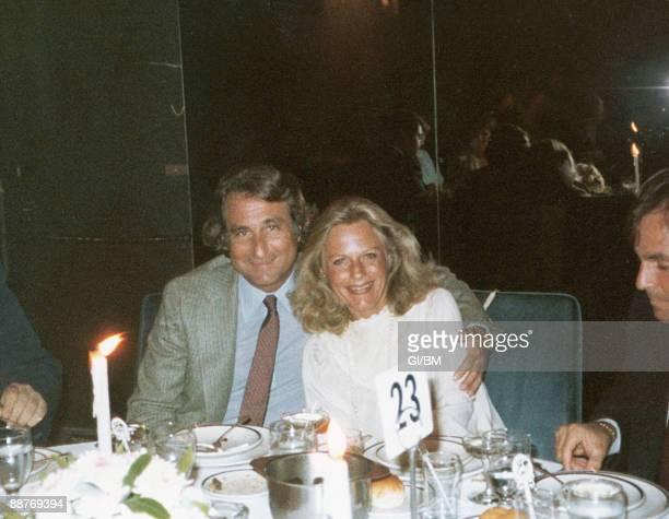 ACCESS*** Financier Bernard Madoff and his wife Ruth Madoff during May 1981 in Long Island NY