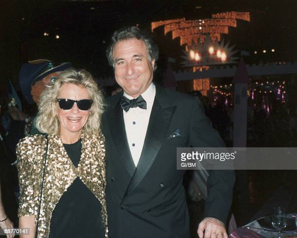 ACCESS*** Financier Bernard Madoff and his wife Ruth Madoff during November 1989 in Long Island NY