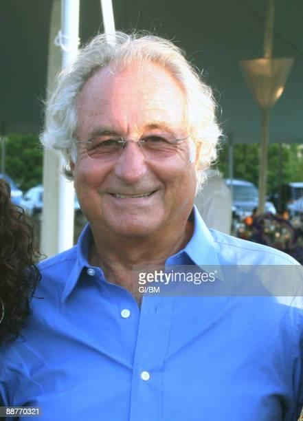 ACCESS*** Financier Bernard Madoff during July 2008 in Montauk NY