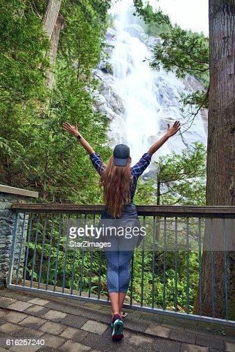 Finding balance with nature : Stock Photo