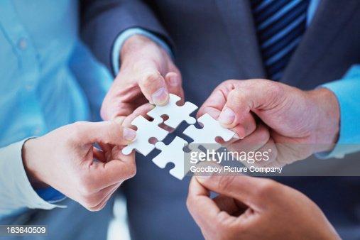 Finding solutions through teamwork