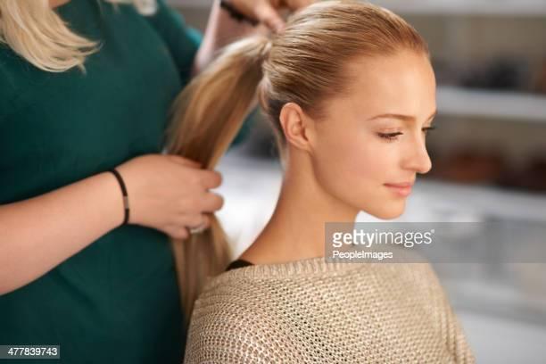 Hallazgo que ideal hair-do