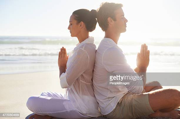 Finding tranquility with each other