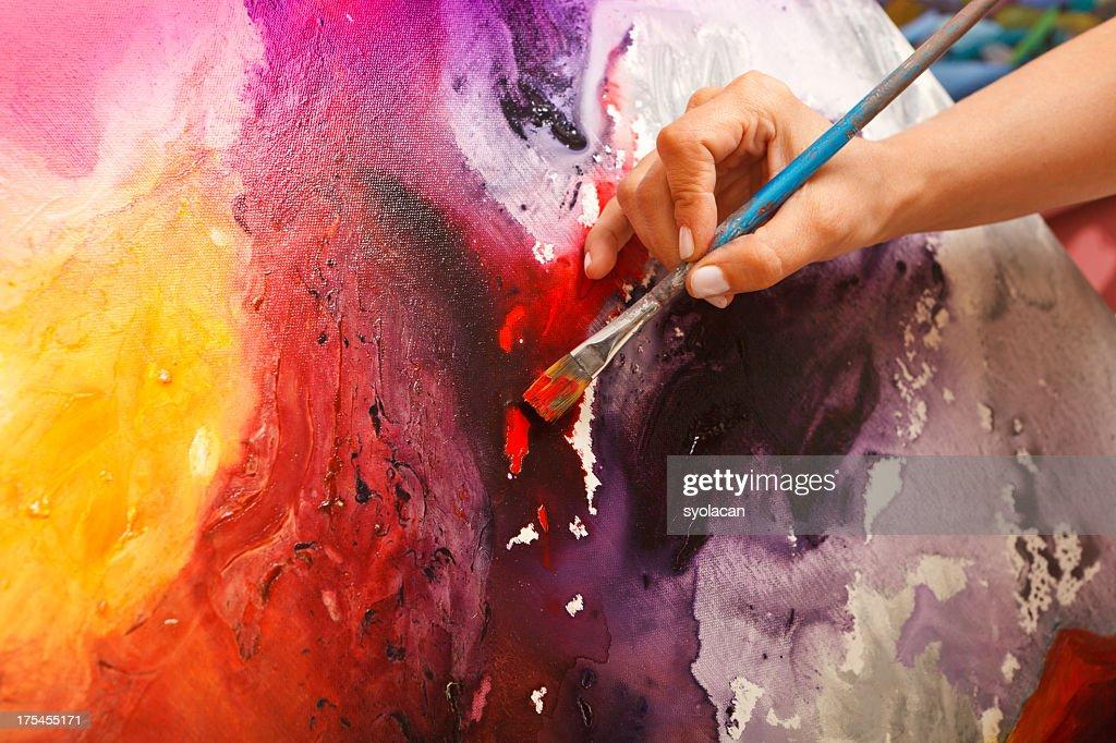 Fine art painter