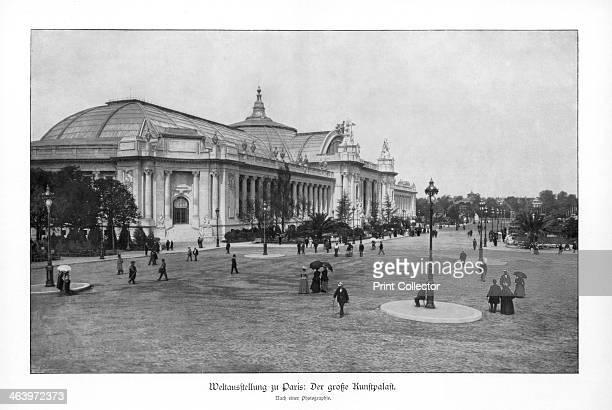 Fine Arts Palace Paris World Exposition