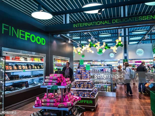 Fine Food Shop at Copenhagen Airport, Denmark